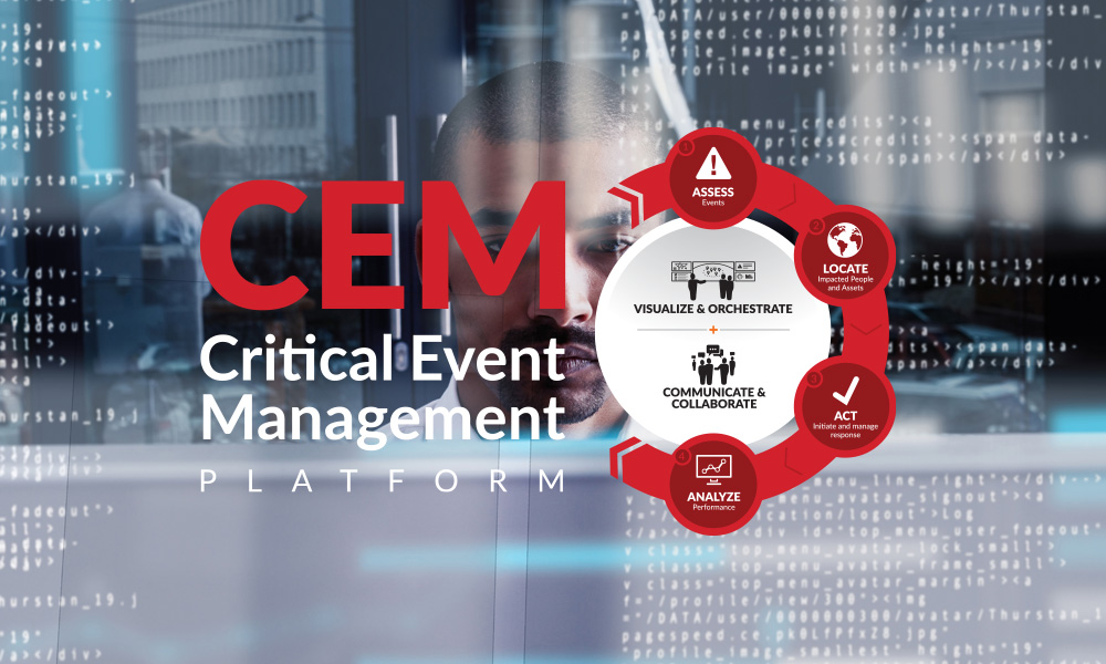 Critical Event Management hero image